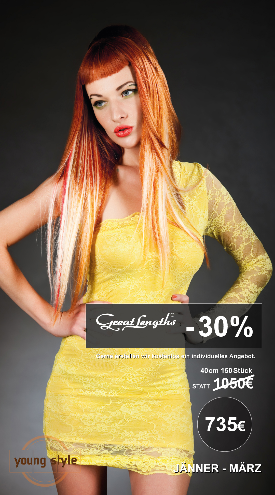 -30% Great Lengths Haarverlängerung